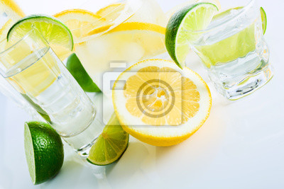 boissons au citron et lime