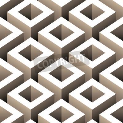 Papiers peints boîtes 3D abstrait seamless