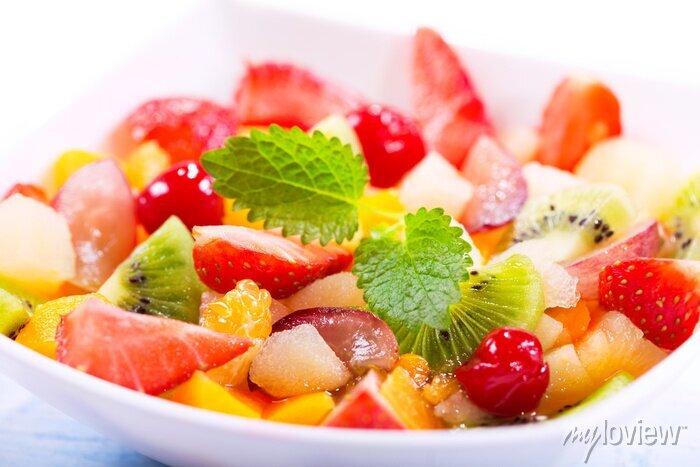 Papiers peints Bol de salade de fruits
