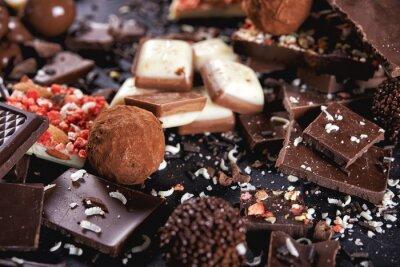 Papiers peints Bonbons au chocolat