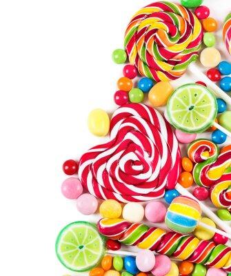 Papiers peints Bonbons colorés