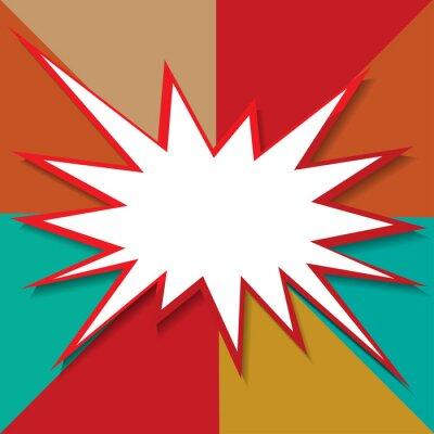Papiers peints Boom icône fond illustration vectorielle