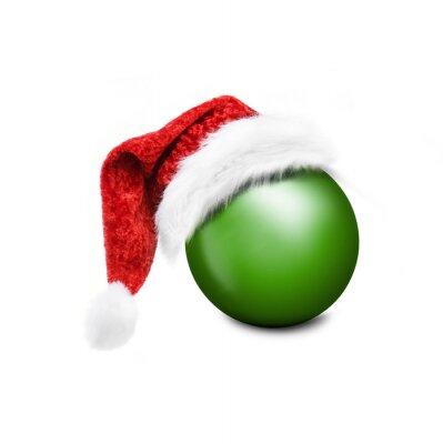 boule de Noël avec le chapeau