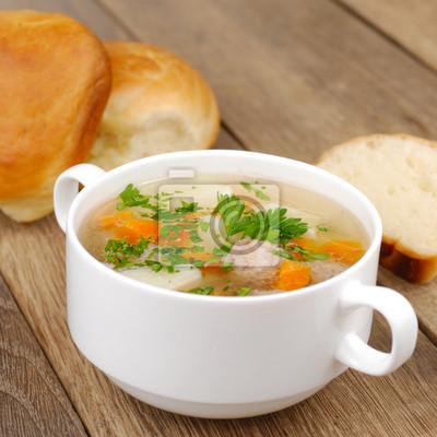 Boulettes de viande soupe
