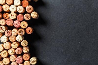 Papiers peints Bouquet de bouchons de vin