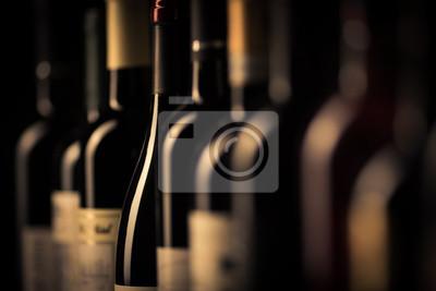 Papiers peints Bouteilles de vin