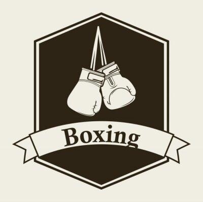 Papiers peints boxing emblem