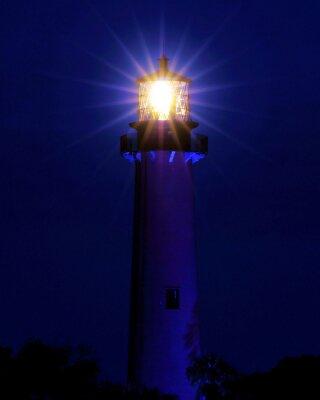 Papiers peints Bright Light / Phare situé à Jupiter, en Floride