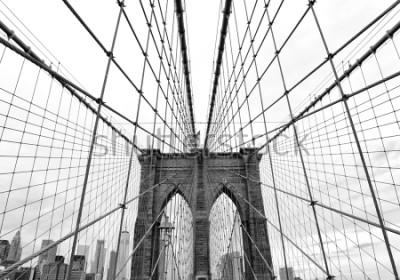 Papiers peints Brooklyn Bridge in New York City, USA