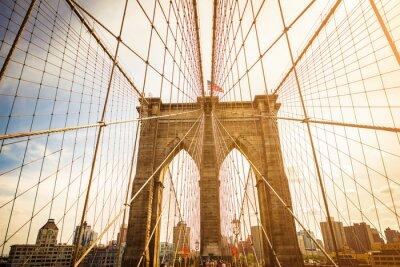 Papiers peints Brooklyn, pont, Manhattan, Horizon