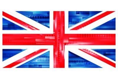 Papiers peints Brytyjska flaga wektor