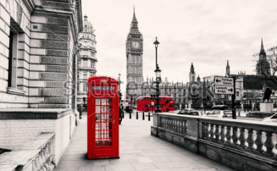 Papiers peints Cabine téléphonique rouge à Londres
