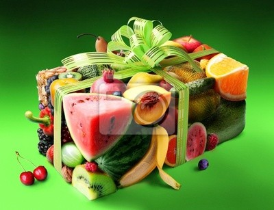 cadeau de fruits