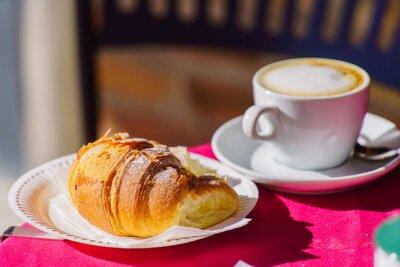 Papiers peints Café au croissant