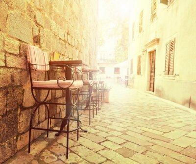 Papiers peints Café en plein air