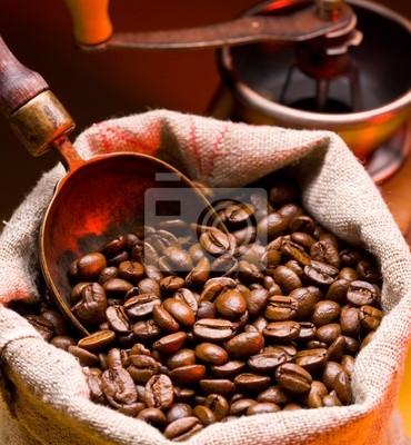 café est dans un sac