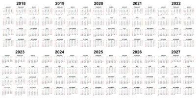 Calendrier Ffkda 2019 2020.Calendrier 2027