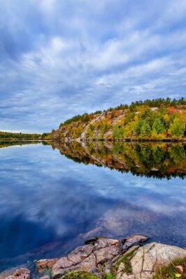 Papiers peints Canada automne automne bleu cabine nuage couleur cottege automne vert île lac paysage congé nature orange rouge saison arbre eau conservation conservation géologie rocher, Terre