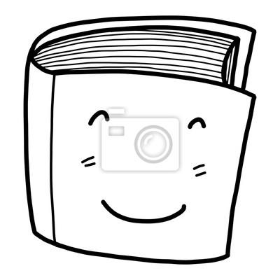 Papiers Peints Caricature De Livre Vector Et Illustration Noir Et Blanc