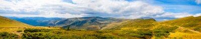 Papiers peints Carpathian, montagnes, panoramique