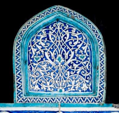 Papiers peints Carrelé, fond, oriental, ornements