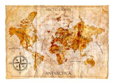 Papiers peints Carte ancienne