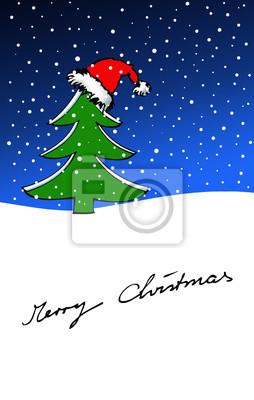 Carte de Noël Tannenbaum