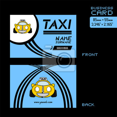 Papiers Peints Carte De Visite Taxi