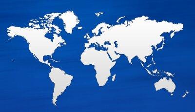 Papiers peints carte du monde