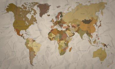 Papiers peints Carte postale - historique avec Kartell (détail)