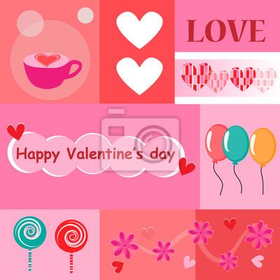 Cartes Happy valentines jour