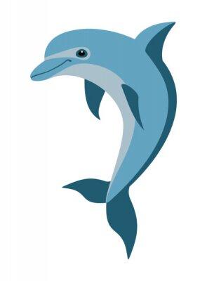 Papiers peints cartoon dolphin