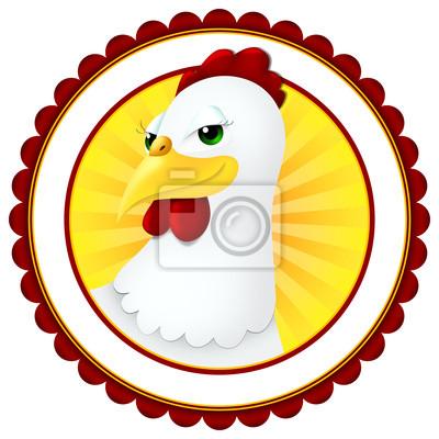 Cartoon poulet