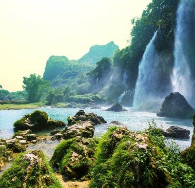 Papiers peints Cascade au Vietnam