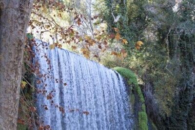 Papiers peints Cascade, automne, plein, feuilles