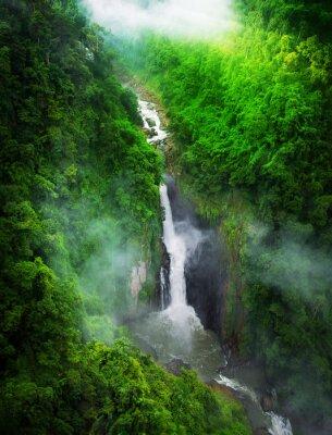 Papiers peints Cascade dans la forêt, Thaïlande
