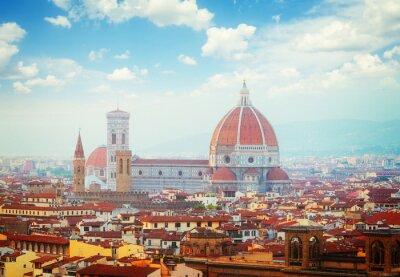 Papiers peints Cathédrale Santa Maria del Fiore, Florence, Italie