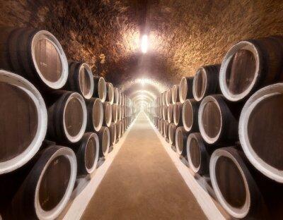 Papiers peints Cave à vin