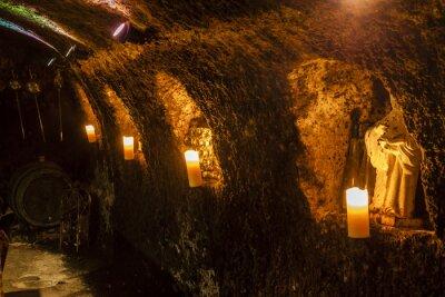 Papiers peints Cave à vin à Velka Trna, région vinicole de Tokaj, Slovaquie
