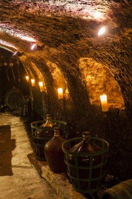 Papiers peints Cave à vin dans Velka Trna, région viticole de Tokaj, la Slovaquie