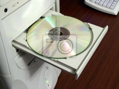 cd-rom dans le lecteur