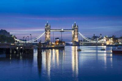 Papiers peints Célèbre, tour, pont, nuit, londres, angleterre, Royaume-Uni
