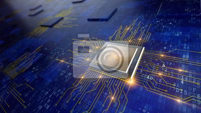 Papiers peints Central Computer Processeurs concept de CPU