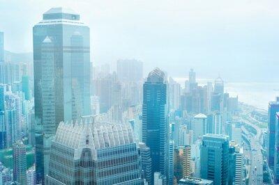 Papiers peints Centre d'affaires à Hong Kong