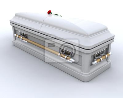 Cercueil d'enterrement
