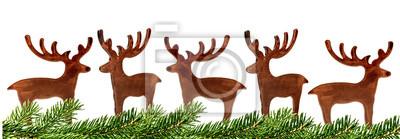 Cerf de décoration de Noël