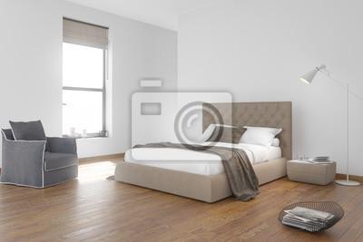 Chambre contemporaine style plage papier peint • papiers peints ...
