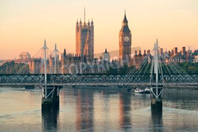 Papiers peints Chambre du Parlement à Westminster à Londres.
