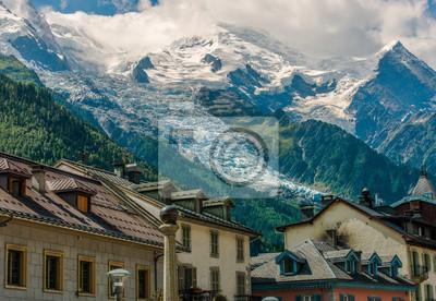 Chamonix mont blanc france papier peint • papiers peints le paysage ...