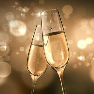 Papiers peints Champagner-date